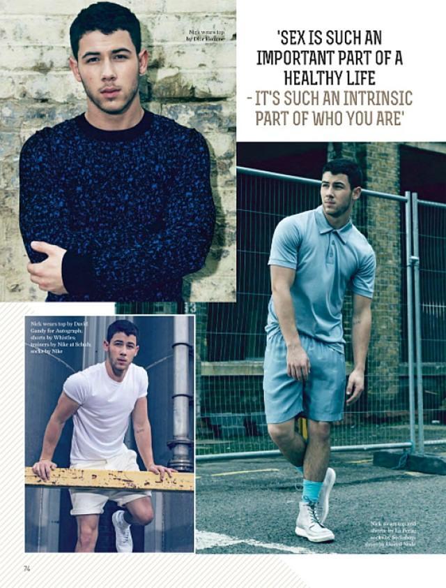Nick Jonas @ Attitude UK December 2014