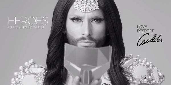 เพลงใหม่ Conchita Wurst ออกแล้ว  (เกย์สาวมีหนวด)