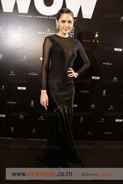 """ชมพู่ อารยา ในชุดจากแบรนด์ดังระดับโลก"""" Versace fall 2014 สวยชุดแช่บมากๆๆๆๆ"""
