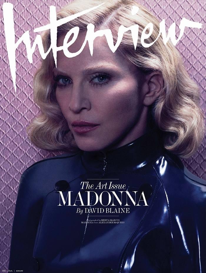 Madonna @ Interview Magazine December-January 2014.15