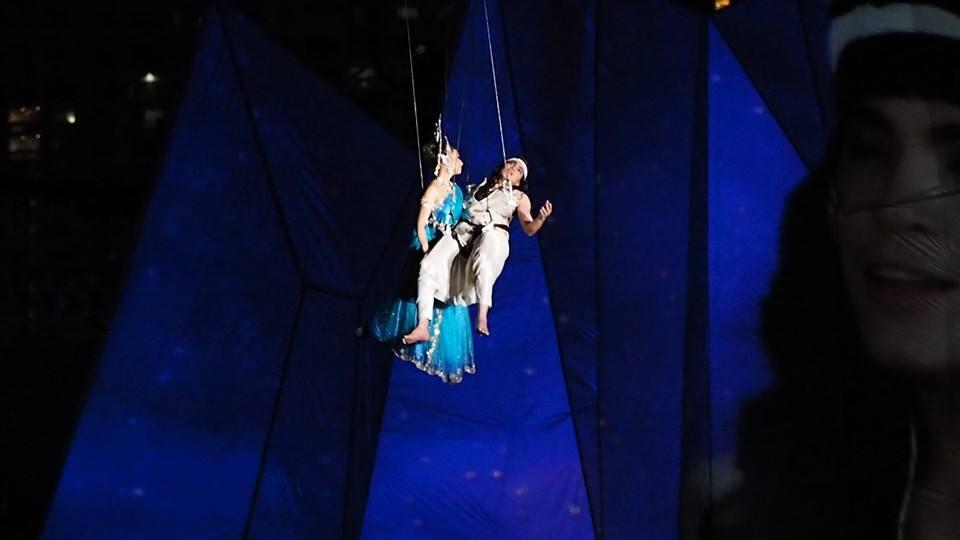 """แคทรียา อิงลิช รับบท """"นางมณีเมขลา"""" ในละครเวทีเทิดพระเกียรติ """"พระมหาชนก เดอะ ฟีโนมีนอน ไลฟ์ โชว์"""""""