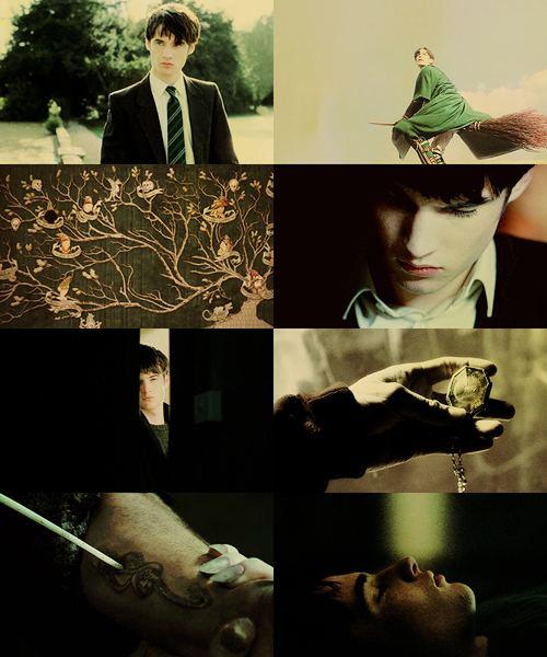 Tom Sturridge as Regulus Black.