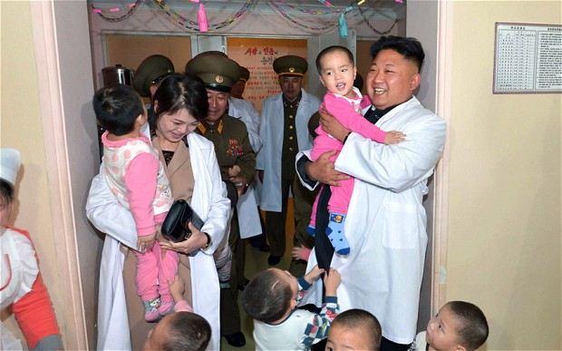 ท่านคิมผู้ยิ่งใหญ่แห่งเกาหลีเหนือ