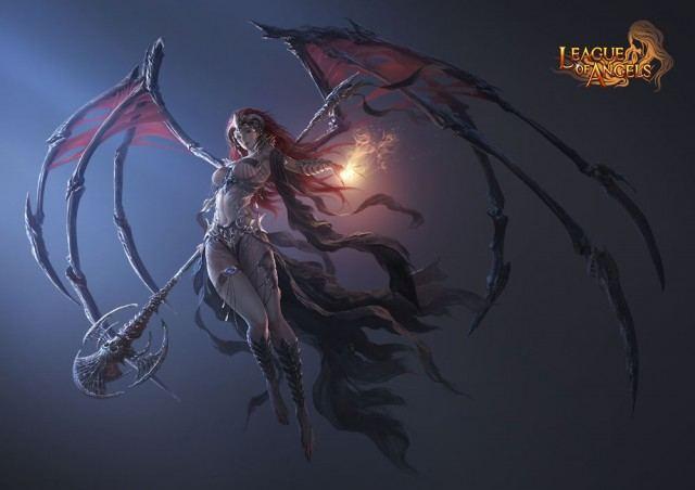 League of angel เกมนางฟ้า ในเฟสบุ๊ค