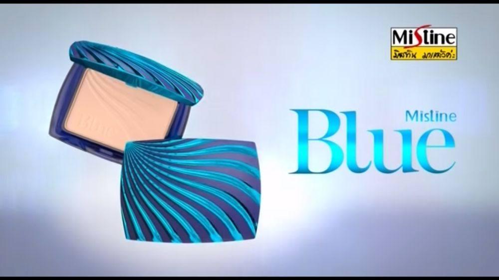 มาแล้ว !! Aum Patchrapa Mistine Blue Locked Lifting Powder ความสวยที่สบัดยังไงก็ไม่หลุด