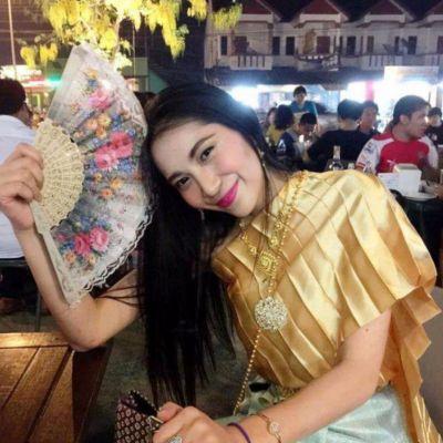 ดังข้ามวัน น้องเมส สาวใส่ชุดไทยในชีวิตประจำวัน