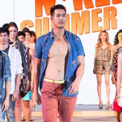 เวียร์ ศุกลวัฒน์  Naked Summer Fashion Show 2015 @CentralPlaza Ubonratchathani