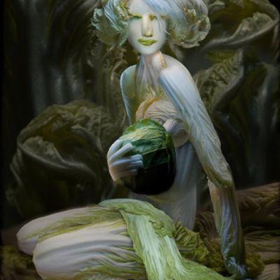 รูป ภาพสวย อาร์ตๆศิลปะจากผัก...