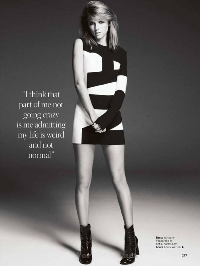 Taylor Swift @ Glamour UK June 2015