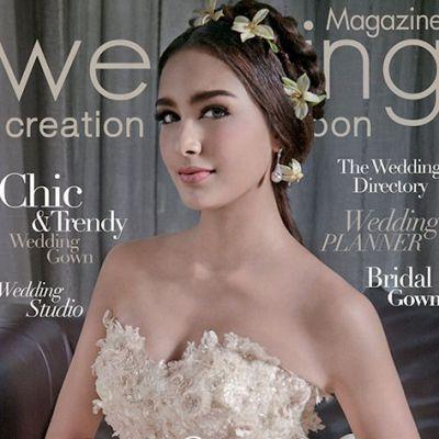 เซฟฟานี่ อาวะนิค ดาวรุ่ง7สี นิตยสาร WEDDING CREATION+HONEYMOON vol. 6 no. 20 April 2015