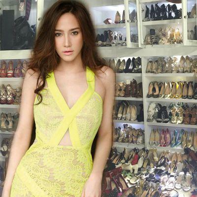 ซุปตาร์สาวเซ็กซี่  อั้ม พัชราภา  สวยรวยตัดใจประกาศเลหลังขายรองเท้าแบรนด์เนมนับร้อยคู่!!