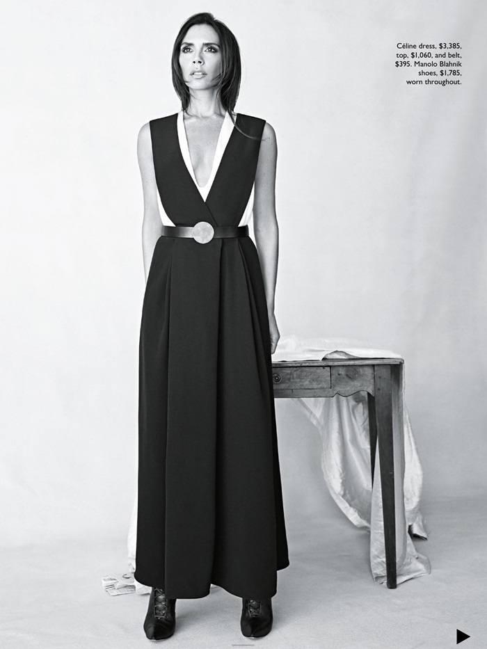 Victoria Beckham @ Vogue Australia August 2015