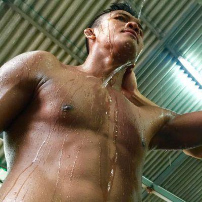 บัวขาว ฟิตร่างกายสู้ศึก  Top King World Series ศึกมวยไทยระดับโลก