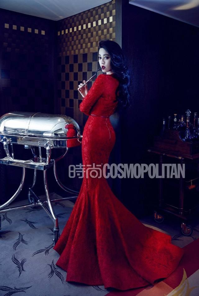Fan Bingbing @ Cosmopolitan China August 2015