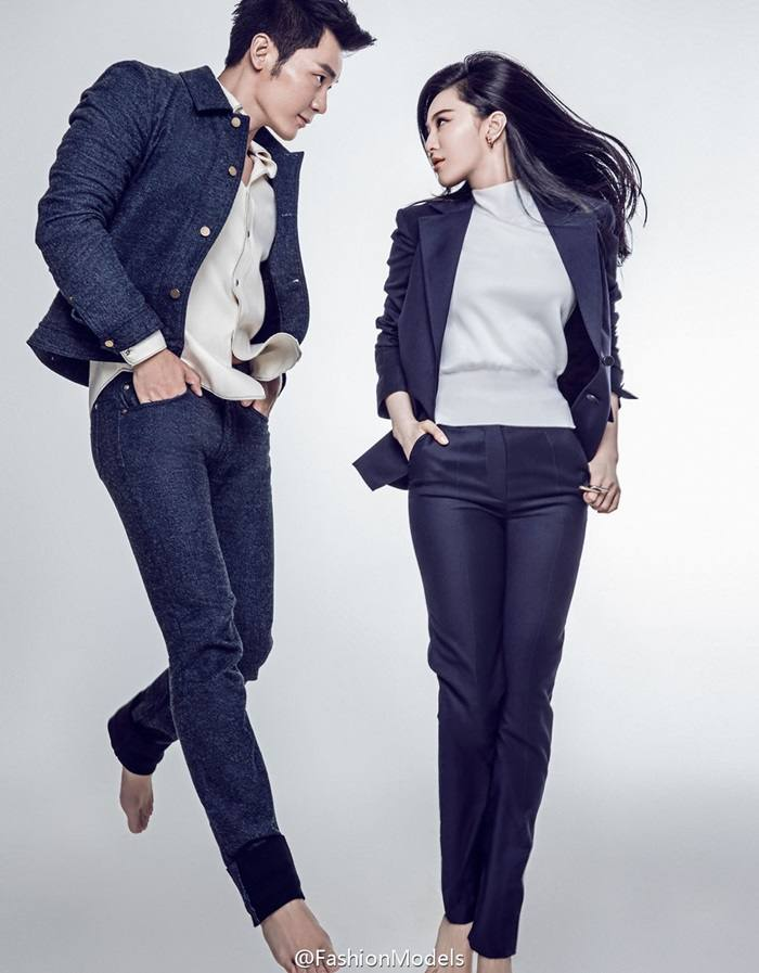 Fan Bingbing & Li Chen @ Harper's Bazaar China September 2015
