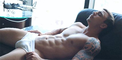 Hot guy in underwear 14