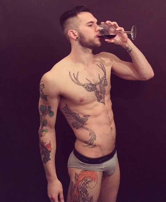 Hot guy in underwear 16