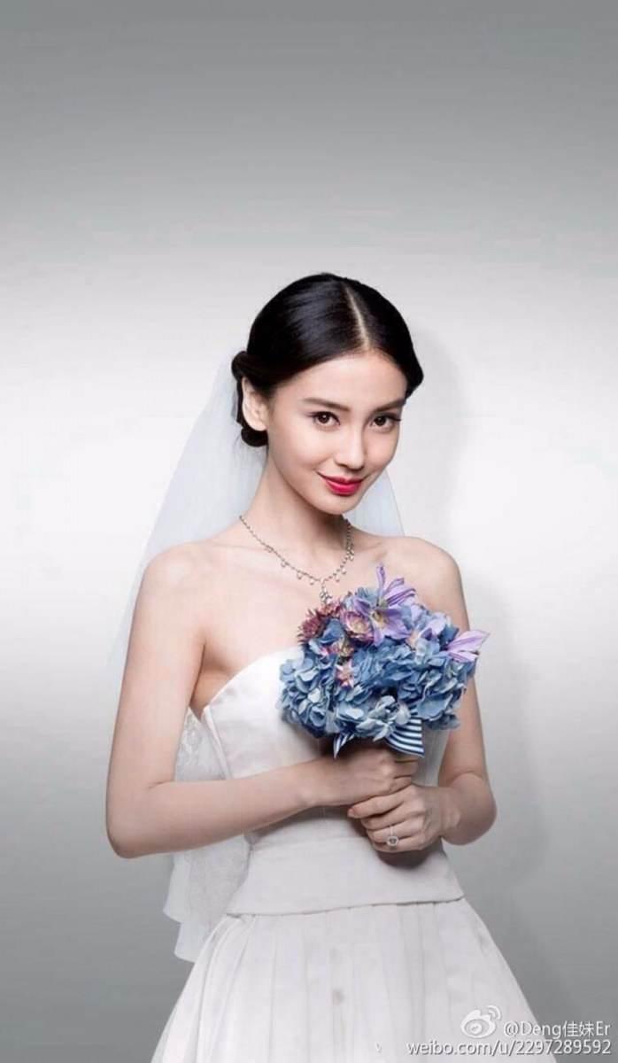 งานแต่งงานของ หวงเสี่ยวหมิง และแองเจอล่า เบบี้ (หยางหยิง) สองนักแสดงจากจีน