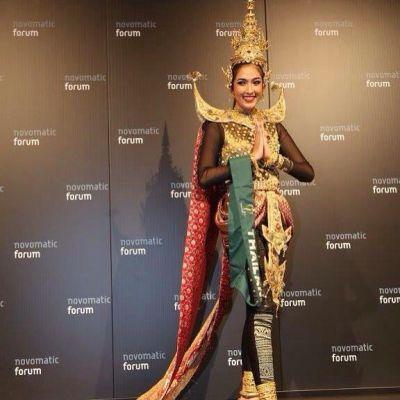 คว้ารางวัลเหรียญเงิน ทวีปเอเชียน้องยิ้ม ชาวิกา วัตรสังข์ ชุดประจำชาติMiss Earth 2015