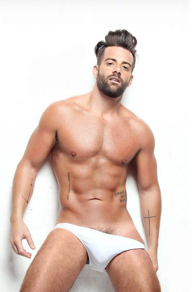 Hot guy in underwear 68
