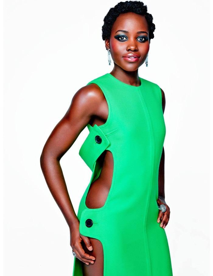 Lupita Nyong'o @ Madame Figaro france December 2015