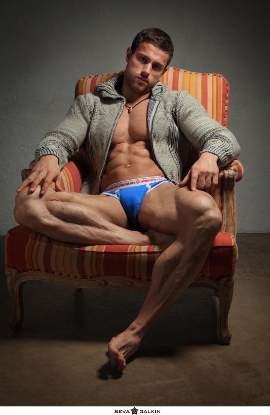 Hot guy in underwear 77