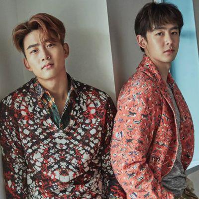 Nichkhun & Taecyeon @ InStyle Korea February 2016