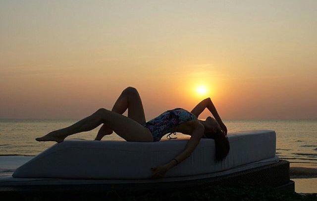 แซ่บทะเลเดือด 'เมนเทอร์คริส' พา'น้ำหวาน-กวาง-เจสซี่'เที่ยวทะเล โพสท่าสตรองชุดบิกินี่