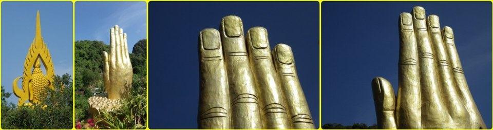 มือใหญ่ ปริศนาธรรม