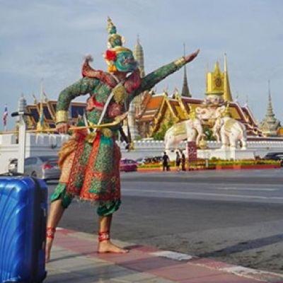 สุดเท่!! 'ทศกัณฑ์' โปรโมทท่องเที่ยวไทย