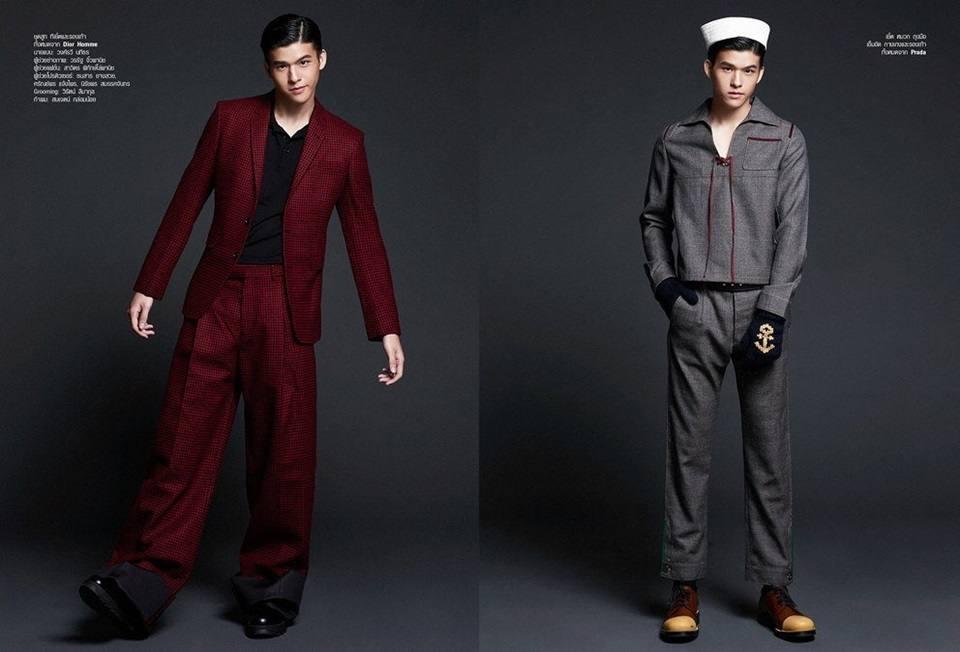 สกาย-วงศ์รวี @ Harper's Bazaar Men Thailand Fall Winter 2016