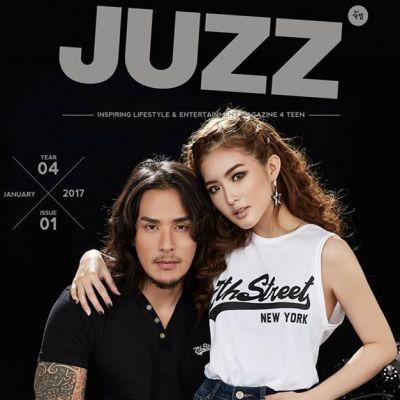 มายด์-วิรพร & แทค ภรัณยู @ JUZZ Magazine year 4 issue 1 January 2017
