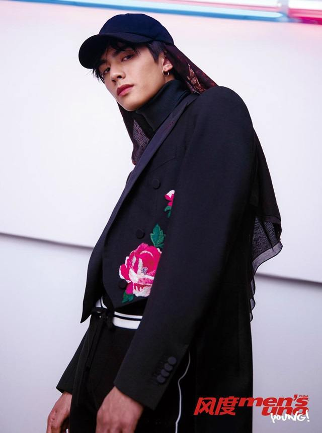Song Wei Long @ Men's uno Young! China March 2017