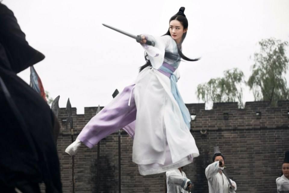 จ้าวลี่อิง 赵丽颖 เกม กระบี่มังกรหยก Legend of Swordman 劍俠情緣 Online