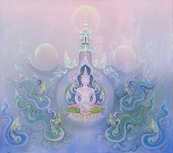 ความยิ่งใหญ่ ของศิลปะไทย ในผลงานศิลปกรรมของ รศ.ดร.สุวัฒน์ แสนขัติยรัตน์