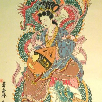 ความยิ่งใหญ่ ของญี่ปุ่น ใน ศาสนาชินโต ตำนานเทพเจ้า
