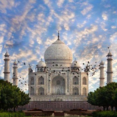 ความยิ่งใหญ่ ของ อินเดีย กับ  ทัชมาฮาล : อนุสรณ์สถานแห่งความรัก