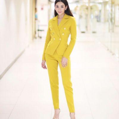 #20ดารากับแฟชั่น ชุดสีเหลือง ที่กำลังมาแรงในขณะนี้