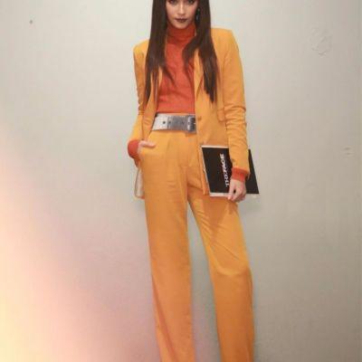 #20ดารากับแฟชั่นชุดสีส้มสุดจี๊ด