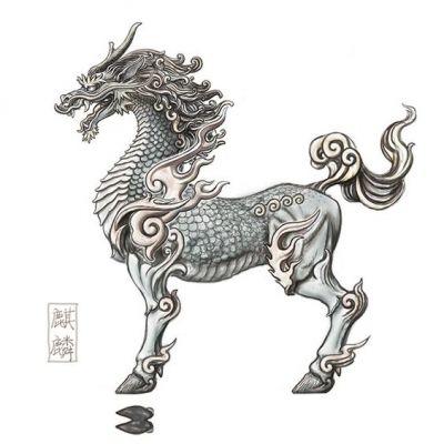 สัตว์ตำนานจีน กิเลน