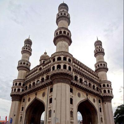ความงามของสถาปัตยกรรมโมกุลใน Hyderabad ประตูไฮเดอราบัด อินเดีย