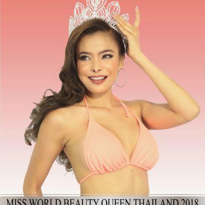 Miss World Beauty Queen Thailand 2018 toffy