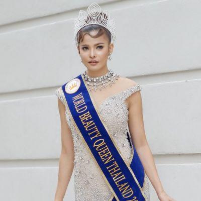 ความสวยของน้องท๊อฟฟี่ อาทิตยา ตะพาบน้ำ  Miss world beauty queen thailand 2018