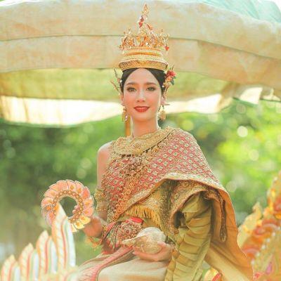 นางสงกรานต์ทุงษะเทวี อั้ม พัชราภา #thailand