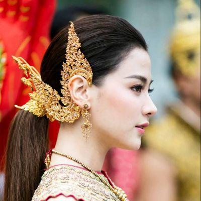 """นางสงกรานต์ทุงษะเทวี ๒๕๖๒ """"ใบเฟิร์น พิมพ์ชนก"""" #thailand"""