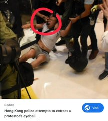 การชุประท้วงที่ฮ่องกง.