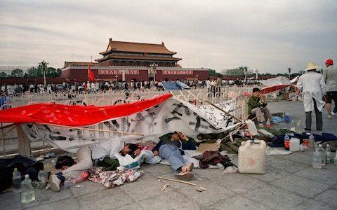 การชุมนุมเรียกร้องประชาธิปไตยในจีนในปี 1989