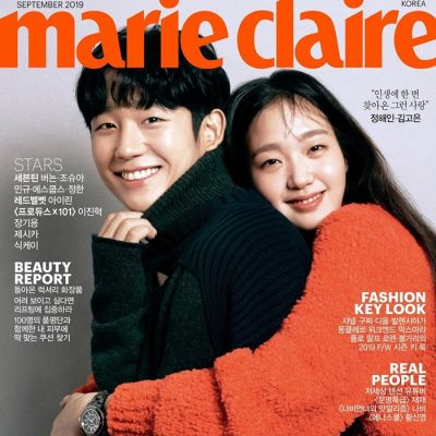 Jung Hae In & Kim Go Eun @ Marie Claire Korea September 2019