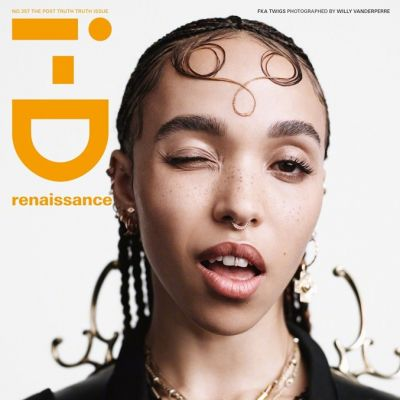 FKA Twigs @ i-D Magazine Fall 2019