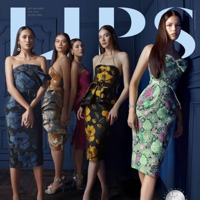 Miss Universe Thailand 2019 @ Lips Magazine August 2019